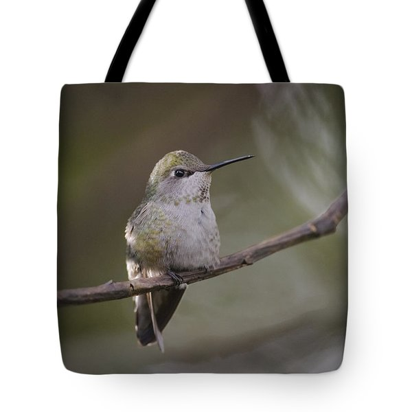 Tote Bag featuring the photograph Anna's Hummingbird by Kathy King