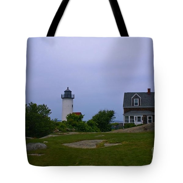 Annisquam Light. Gloucester, Ma. Tote Bag