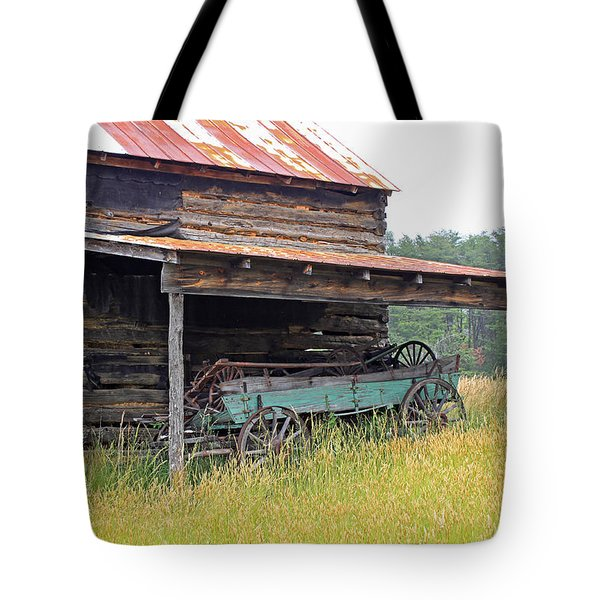 Another Time Tote Bag by Suzanne Gaff