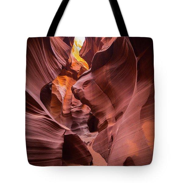Antelope Canyon Tote Bag by JR Photography