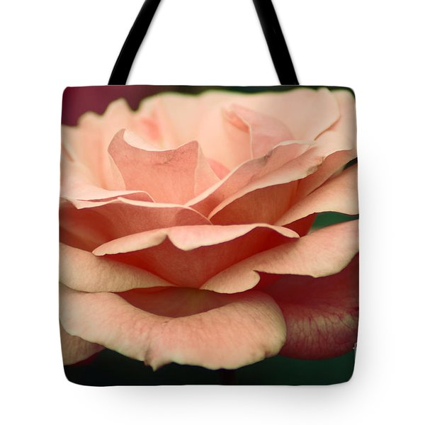 Tote Bag featuring the photograph Antique Rose by Donna Bentley