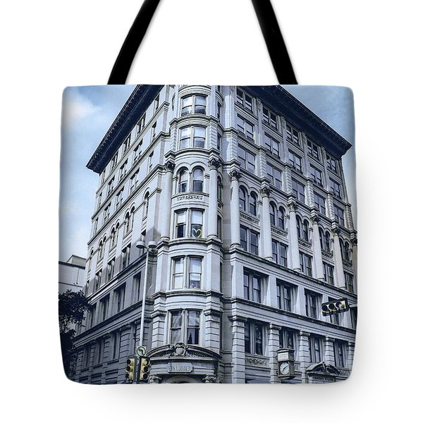Archtectural Building 2 Tote Bag