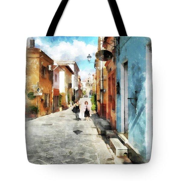 Arzachena Garibaldi Street Tote Bag