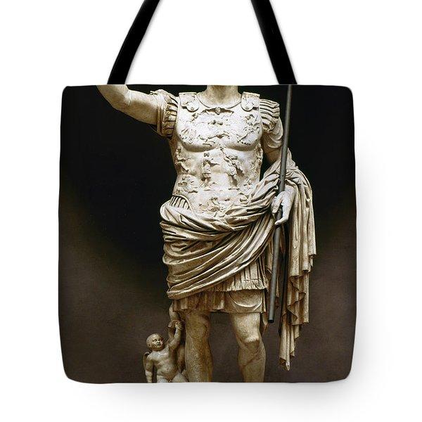 Augustus (63 B.c.-14 A.d.) Tote Bag by Granger