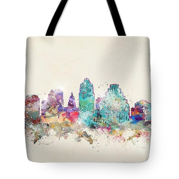 Austin City Texas Tote Bag