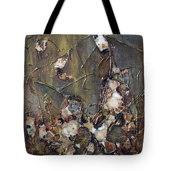 Tote Bag featuring the painting Autumn Leaves by Joanne Smoley