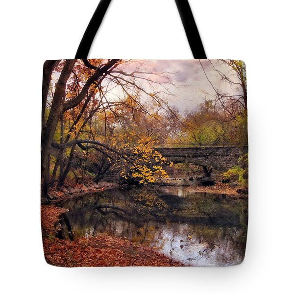 Autumn's Ending Tote Bag by Jessica Jenney