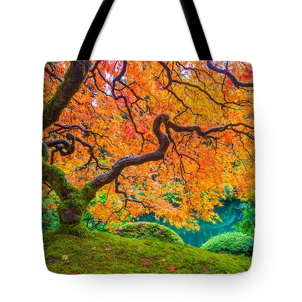 Tote Bag featuring the photograph Autumn's Jewel by Patricia Davidson