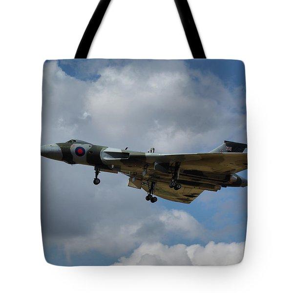 Avro Vulcan B2 Xh558 Tote Bag by Tim Beach