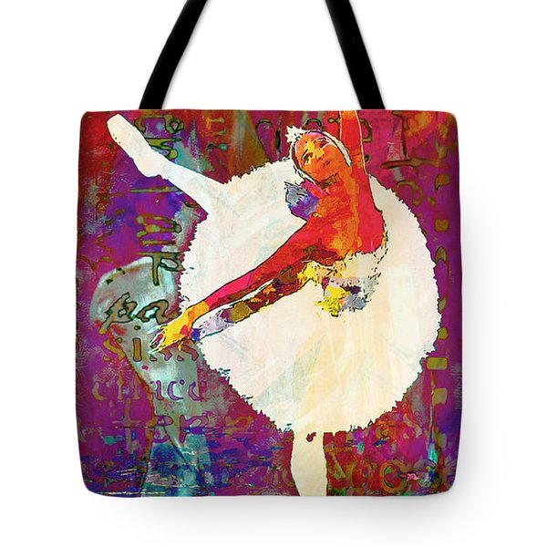 Ballet Tote Bag by Lynda Payton