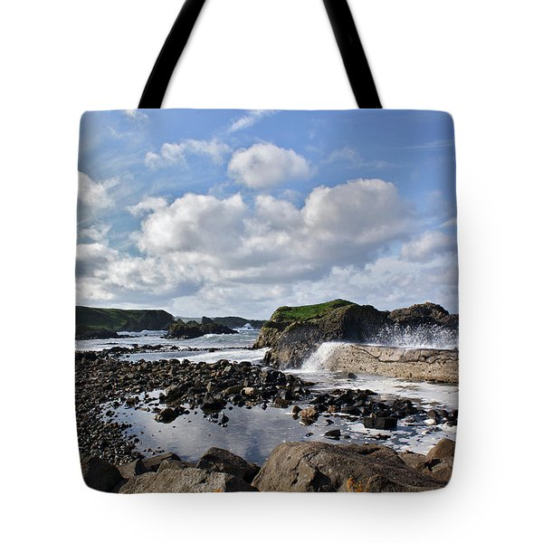 Tote Bag featuring the photograph Ballintoy Bay by Colin Clarke