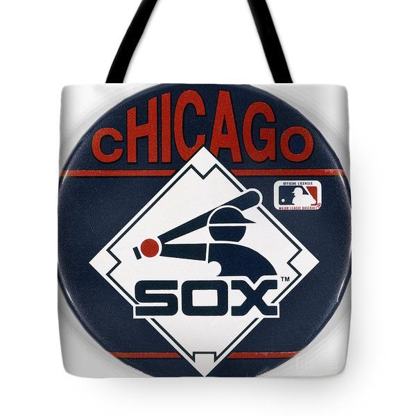Baseball Button Tote Bag by Granger