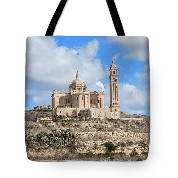 Basilica Ta Pinu - Gozo Tote Bag