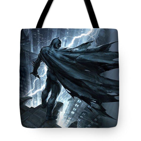 Batman The Dark Knight Returns 2012 Tote Bag