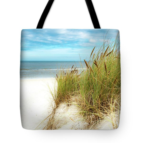 Tote Bag featuring the photograph Beach Grass by Hannes Cmarits
