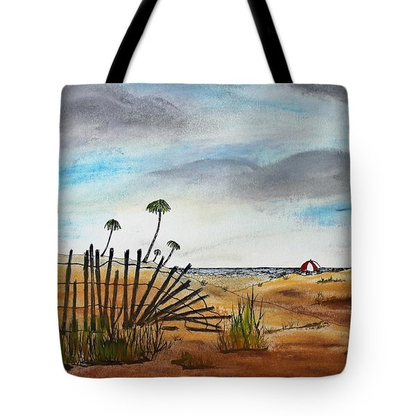Beach Path Tote Bag by Jack G  Brauer
