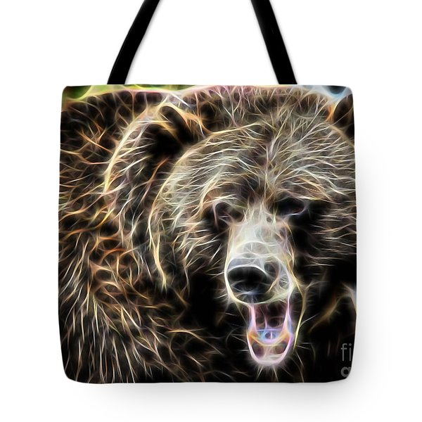 Bear Collection Tote Bag by Marvin Blaine