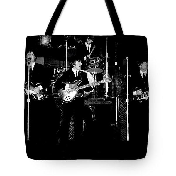 Beatles In Concert 1964 Tote Bag
