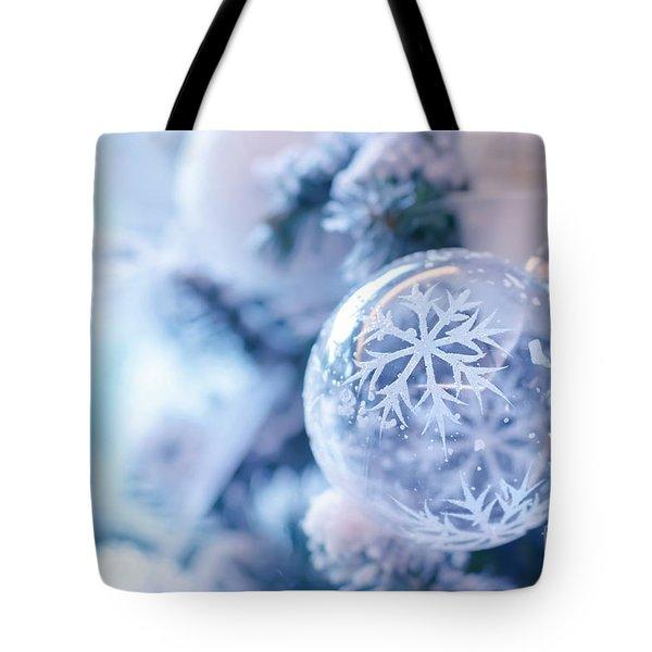 Beautiful Christmas Decoration Tote Bag