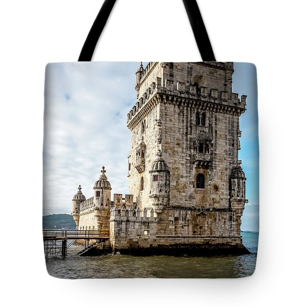 Belem Tower Tote Bag