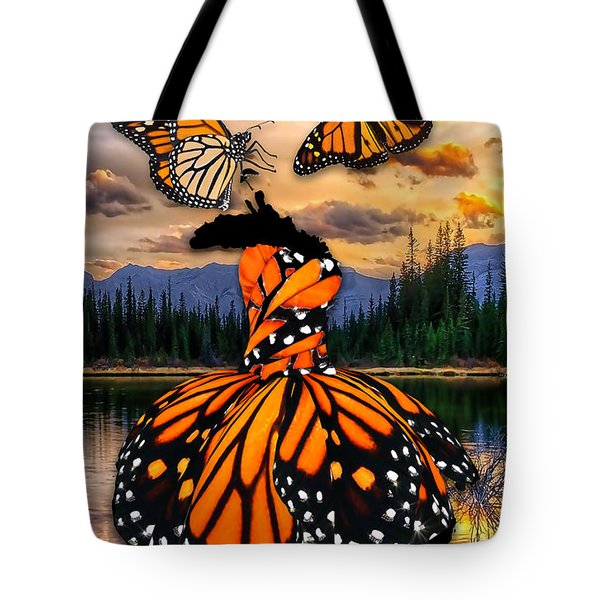 Tote Bag featuring the mixed media Believe by Marvin Blaine