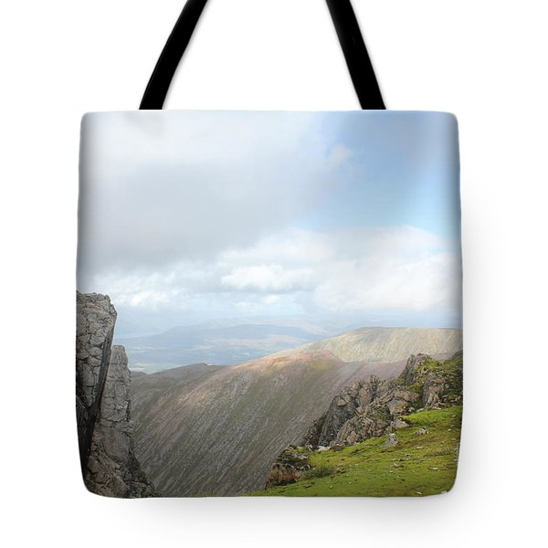 Ben Nevis Tote Bag by David Grant