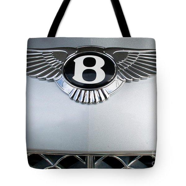 Bentley Emblem Tote Bag