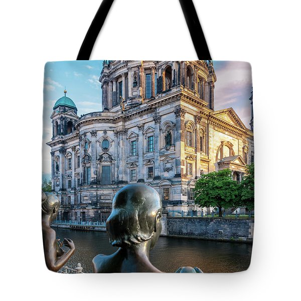 Berlin Tote Bag by Stavros Argyropoulos