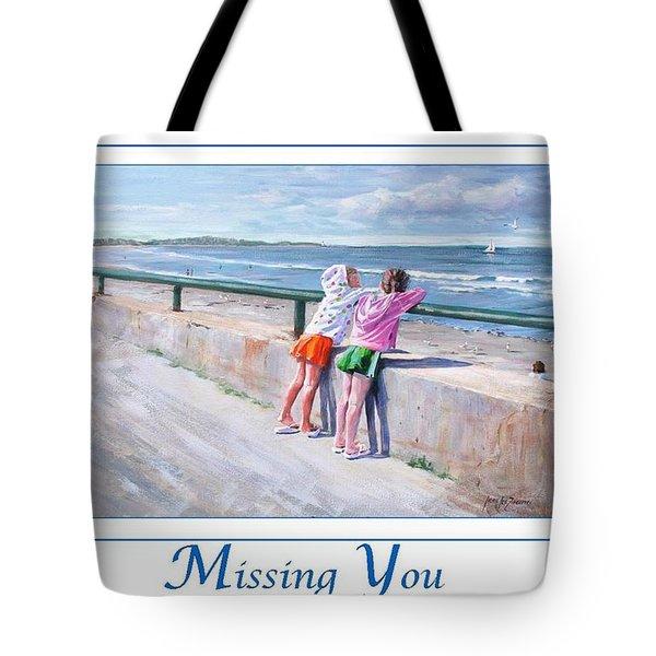 Best Friends Tote Bag by Laura Lee Zanghetti