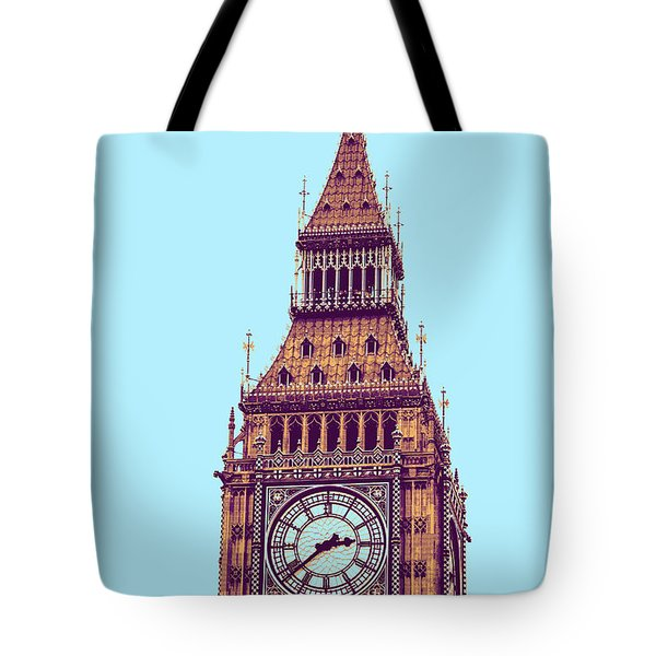 Big Ben Tower, London  Tote Bag by Asar Studios
