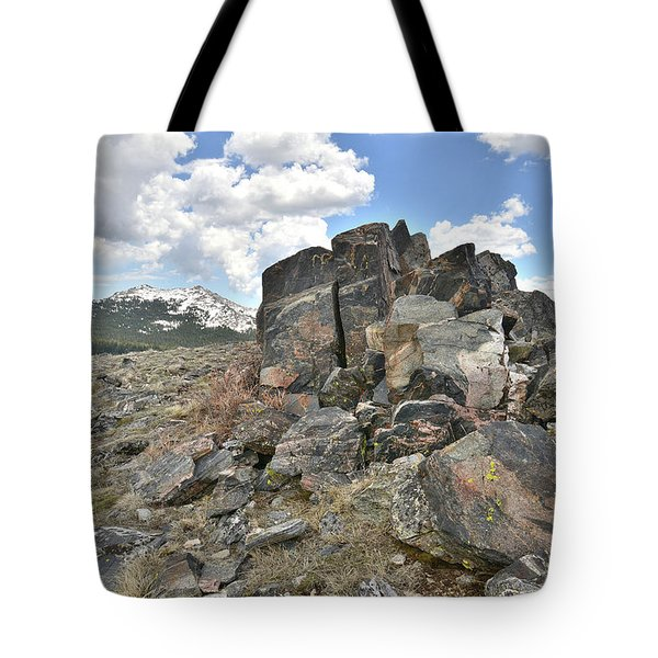 Big Horn Pass In Wyoming Tote Bag