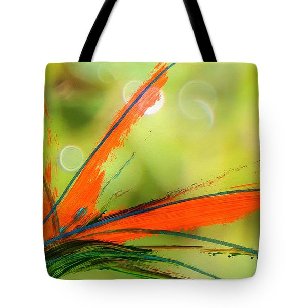 Bird Of Paradise 2 Tote Bag by Kume Bryant