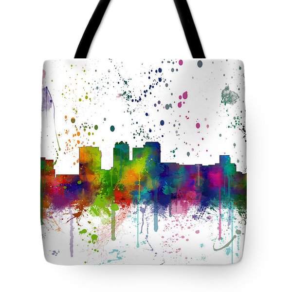 Birmingham Alabama Skyline Tote Bag