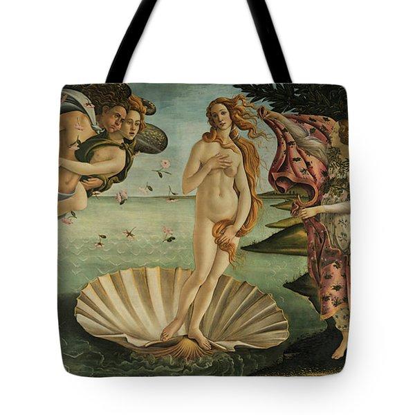 The Birth Of Venus, Detail Tote Bag