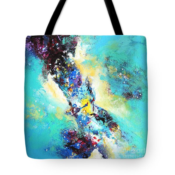 Blue Harmony Tote Bag