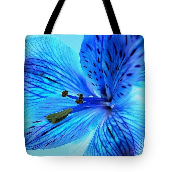 Blue Summer II Tote Bag