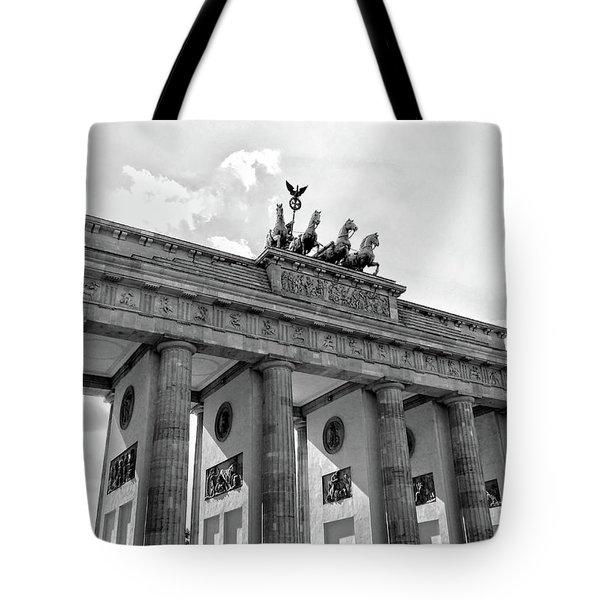 Brandenburg Gate - Berlin Tote Bag
