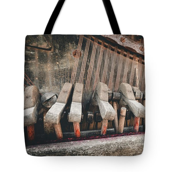 Broken Piano Tote Bag