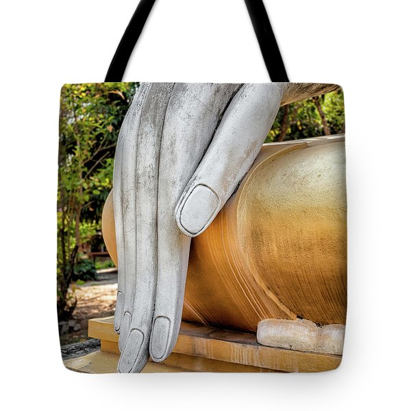 Tote Bag featuring the photograph Buddha Hand by Adrian Evans