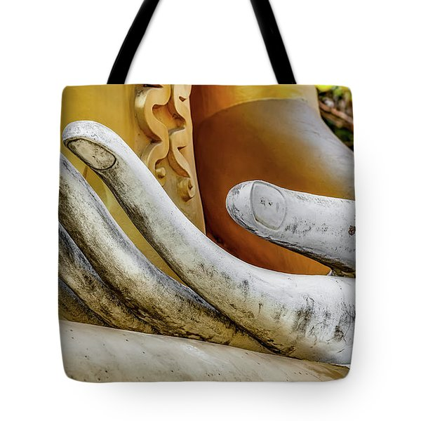 Tote Bag featuring the photograph Buddha's Hand by Adrian Evans