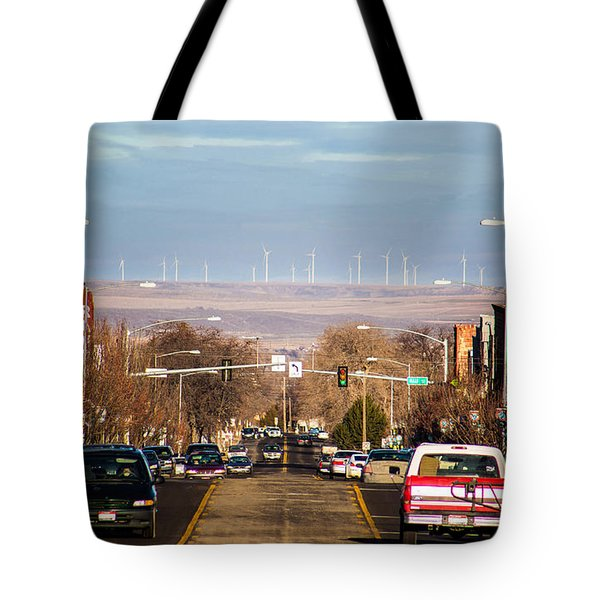 Tote Bag featuring the photograph Buhl Idaho Trout Capital Of The World by Michael Rogers