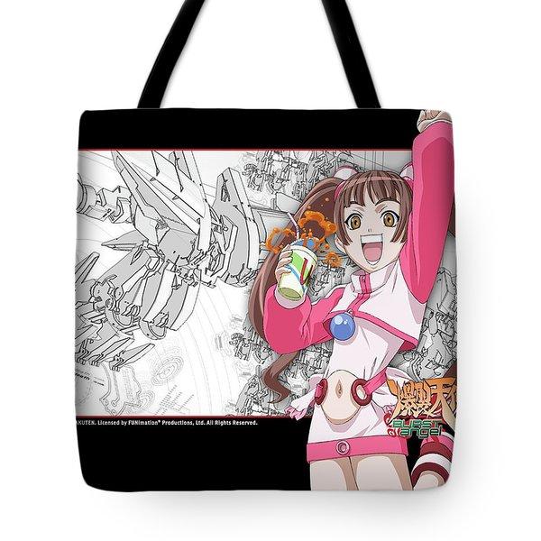 Burst Angel Tote Bag