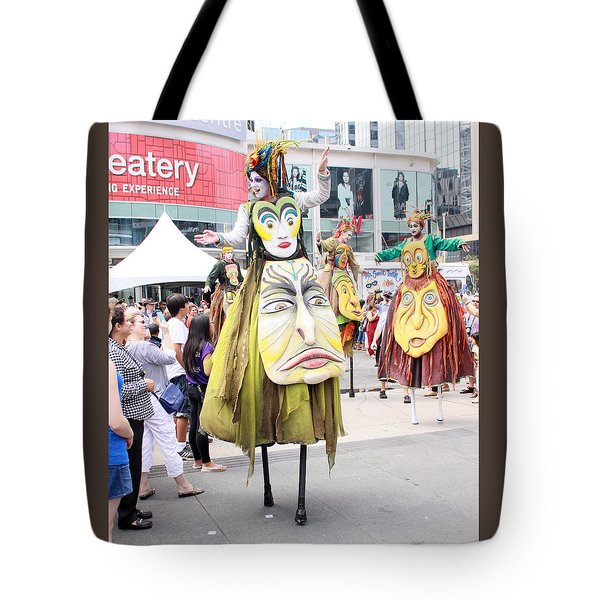 Busker Fest Toronto August 2014 Tote Bag