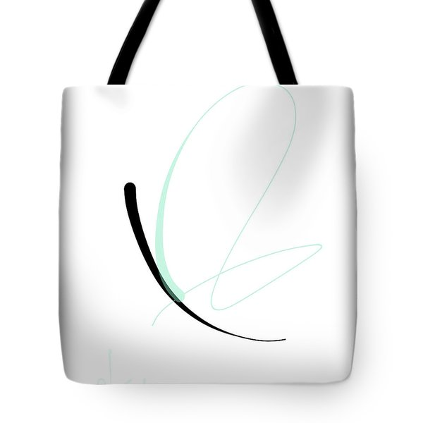 Tote Bag featuring the mixed media Butterfly by Larry Talley