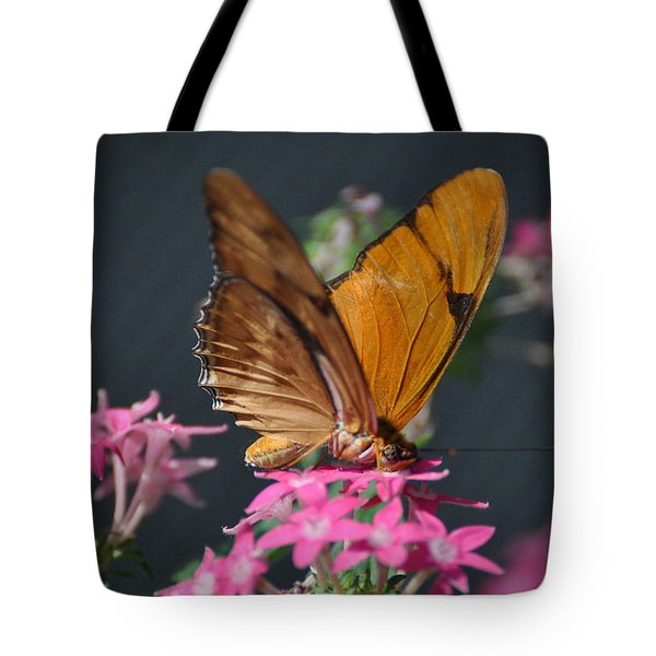 Tote Bag featuring the photograph Butterfly by Savannah Gibbs