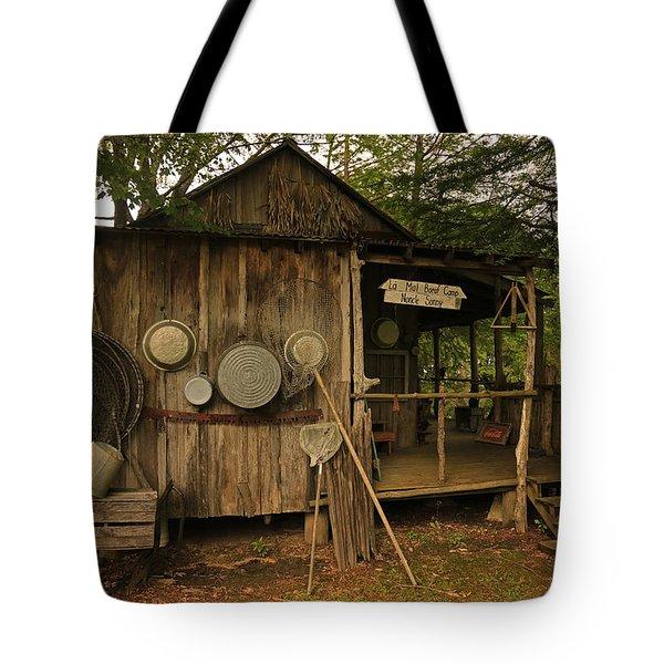 Cajun Cabin Tote Bag