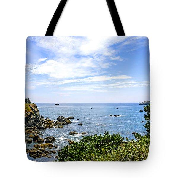 California Coastline Tote Bag by Chris Smith