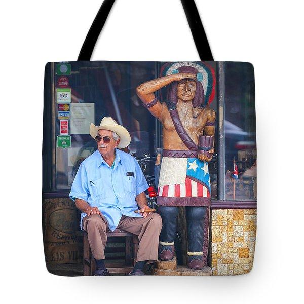 Calle Ocho Tote Bag