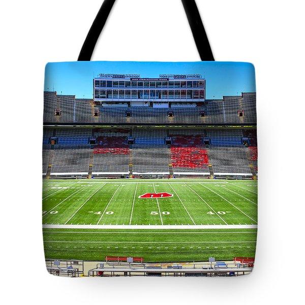 Camp Randall Uw Madison Tote Bag by Chris Smith