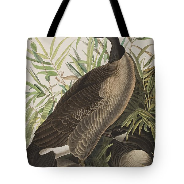 Canada Goose Tote Bag by John James Audubon